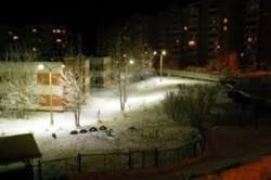 Ночное освещение територии