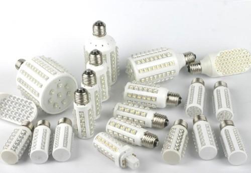 Множество размеров светодиодных ламп