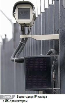 Подсветка для охранной системы