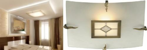 Вариант люстры для спальни