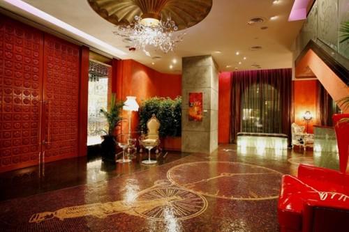 Китайская хрустальная люстра для залы
