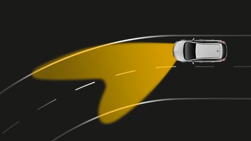 Динамичность системы освещения при повороте