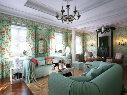 Оформление помещения в флористическом «провансе»