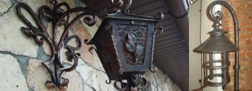 Вариант уличного светильника