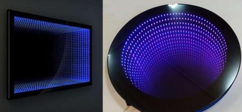 Эффект удаления за счет светодиодных рядов