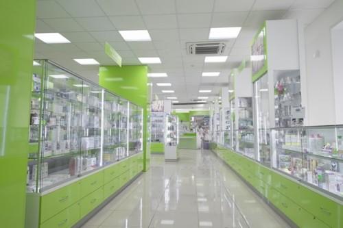 Освещение в аптеке
