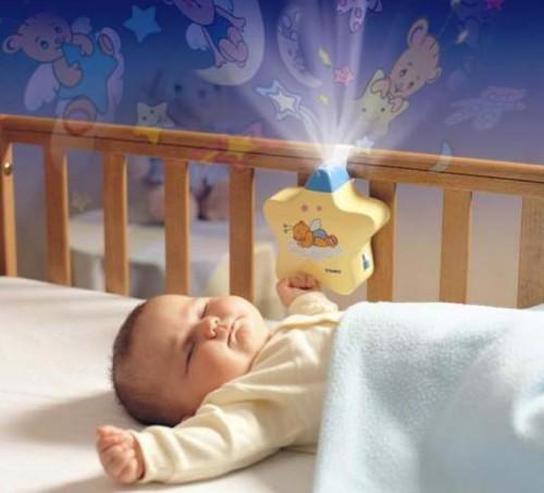 Вариант светильника для детской кроватки