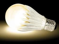 Светодиодная лампа с радиатором