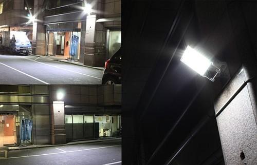 Вариант применения светодиодных прожекторов
