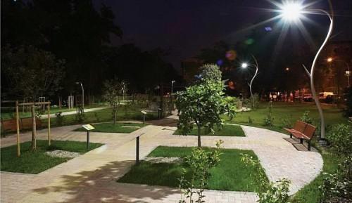 Вариант уличного светодиодного фонаря