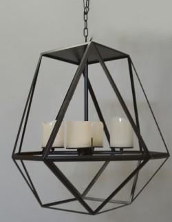 Применение кованных светильников в современном интерьере