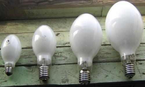 Варианты лампочек