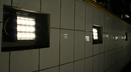 Источник света в смотровых ямах