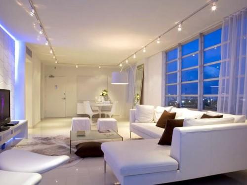 Организация освещения в комнате