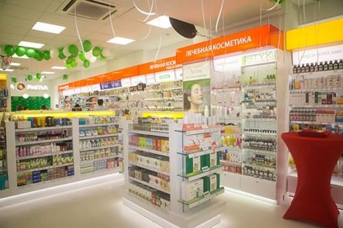 Светильники в аптеке