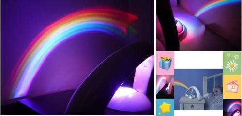 Вариант проекции радуга в вашей комнате