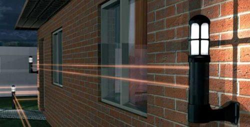 Охранная подсветка с датчиками