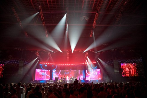 Вариант освещения концертного зала