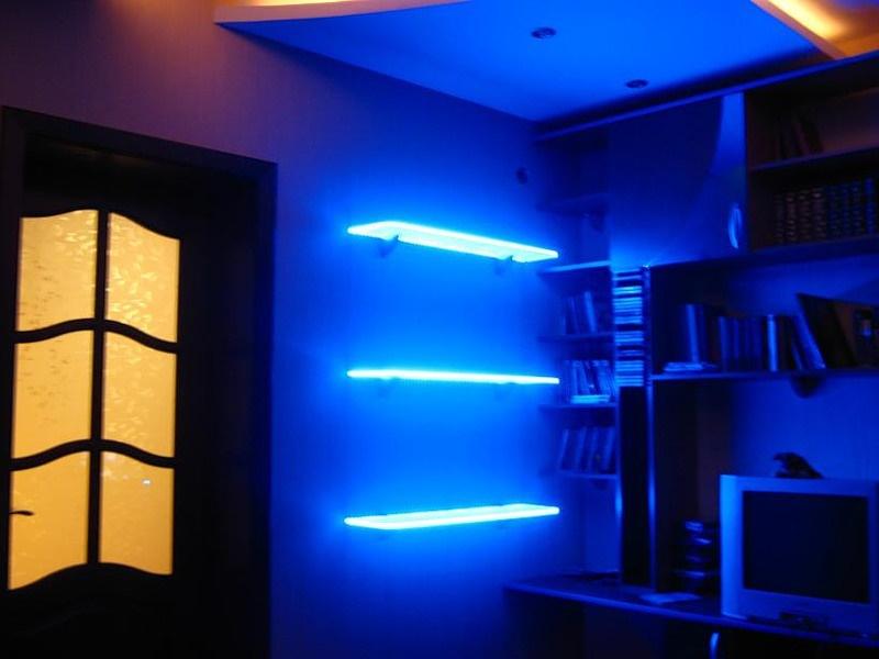 Светодиодная подсветка стен своими руками 88