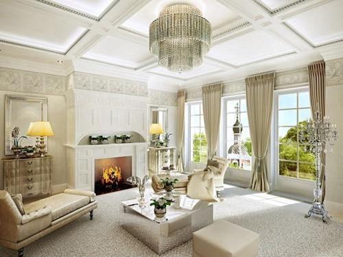 Класический стиль комнаты