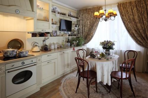 Вариант оформления кухни в стиле «прованс»