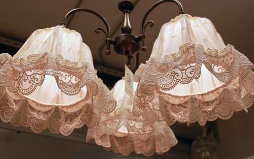 Декоративный светильник в стиле «прованс»