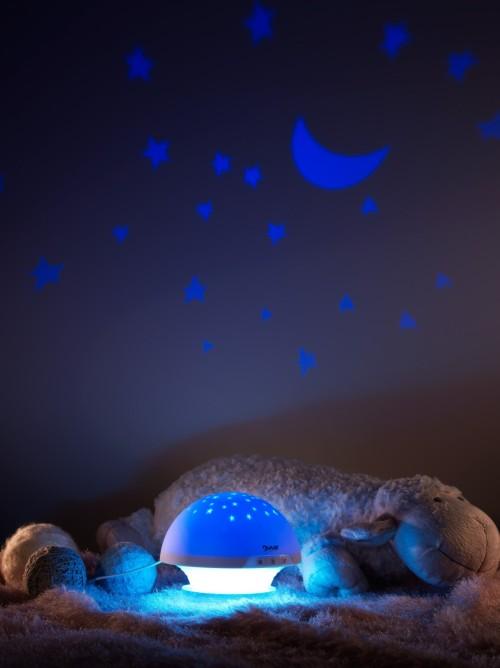 """Проекция в комнате от работы светильника """"Лунный гриб"""""""