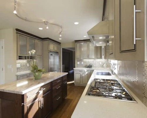 Светильник на кухне