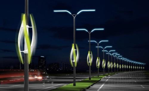 Размещение столбов для освещения дорожного покрытия