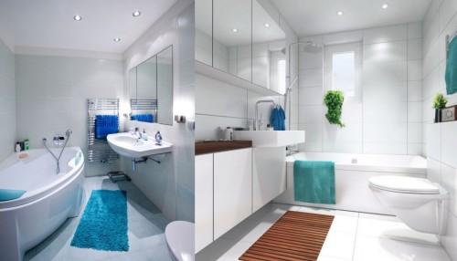 Применение спотов в ванной