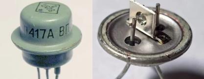 Внутренняя часть транзистора