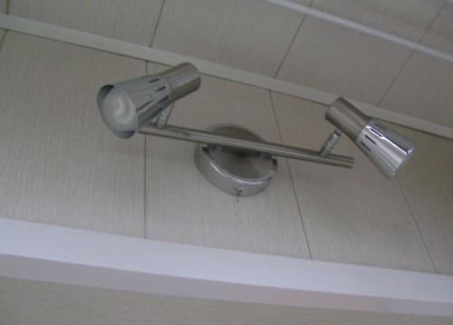 Вариант светильника с поворотными плафонами