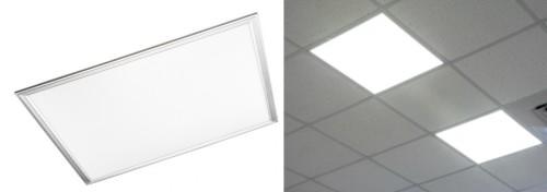 Использование светодиодных панелей армтронг