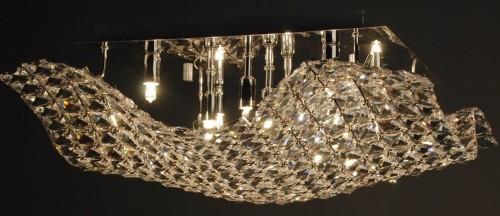 Свет от светильника из серии Manta