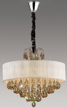 Современный вариант люстры от компании Crystal lamp