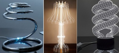 Светильники выполненные в современном стиле
