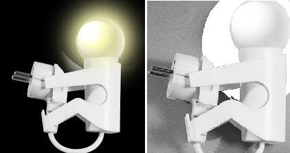 Розеточный ночник JS1-Smart и свет от него