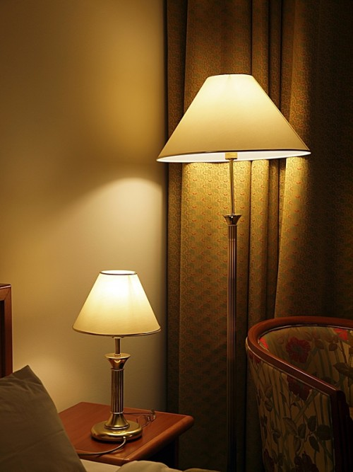 Применение разных светильников выполненных в единой серии