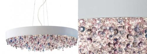 Современный вариант люстры от компании Masiero