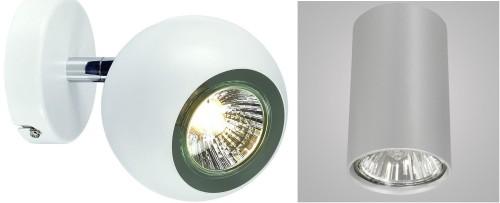 Модели точечных светильников с поворотными патронами