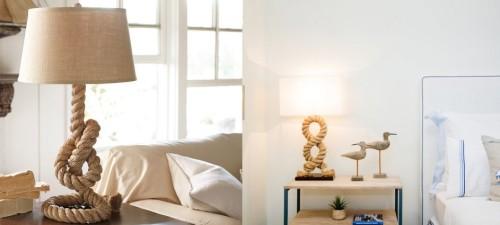 Лампы с оригинальными ножками и абажурами
