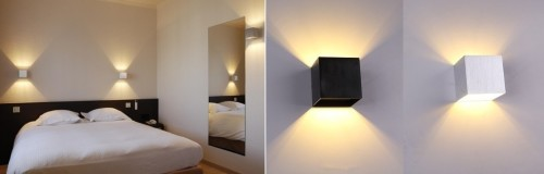 Применение оригинальных квадратных светильников
