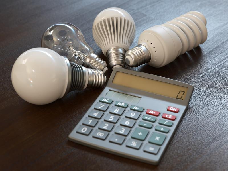 Расчет расходов электроэнергии приборами учета