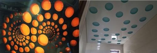 Организация подсветки оригинального дизайна потолка
