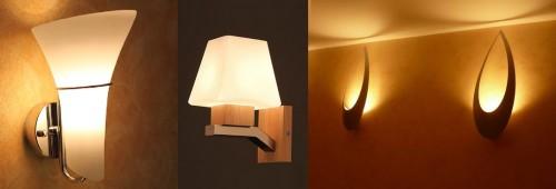 Вариант света от матовых светильников