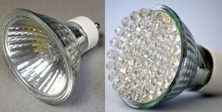 Варианты ламп для применения с натяжными потолками