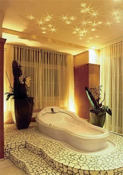 Использование фигурных насадок для организации ванной