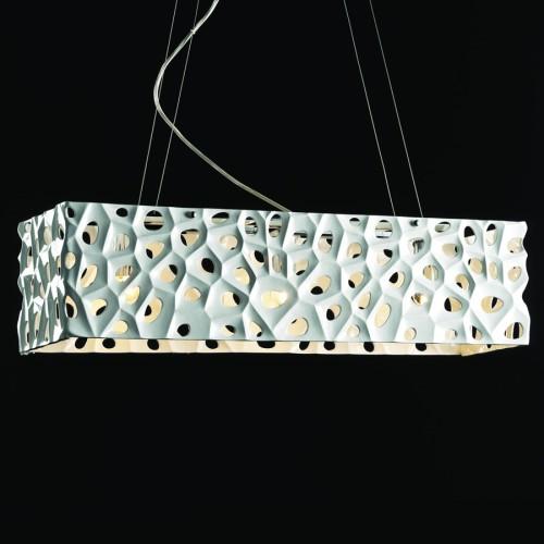 Современный вариант люстры от компании Illuminate
