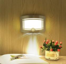 Беспроводной вариант настенного светильки