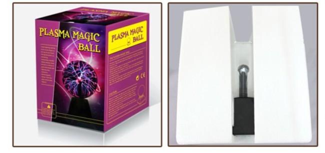 Упаковка плазменной лампы